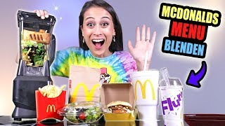 HEEL MCDONALD'S MENU IN EEN BLENDER STOPPEN! || Mix of Niks