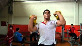 Turkish wrestler out to crush Olympic rivals