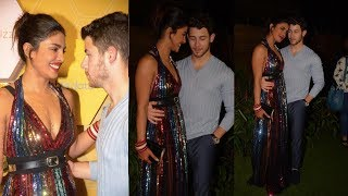 Priyanka Chopra With Husband Nick Jonas Look So Royal At Bumble Launch Party