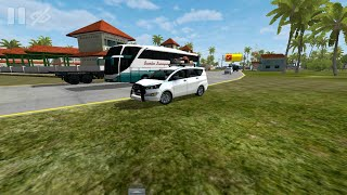 Bussid New updated vehicle! Bus simulator indonesia game in innova crysta tourist vehicle mod!