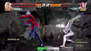 Tekken 7 steve mom (Nina) vs eyemusician (Alisa) 철권7 스티브엄마 (니나) vs 아이뮤지션 (알리사)