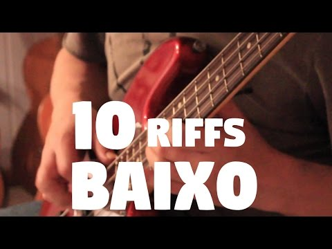 10 Riffs no Baixo - Fabio Lima
