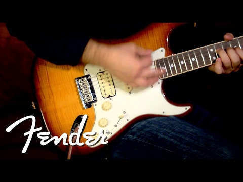 Fender Select 2013 Stratocaster HSS Demo