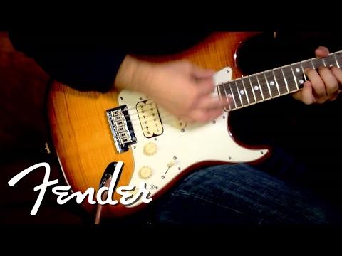 Fender Select 2013 Stratocaster HSS Demo