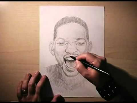 Desenhando Will Smith