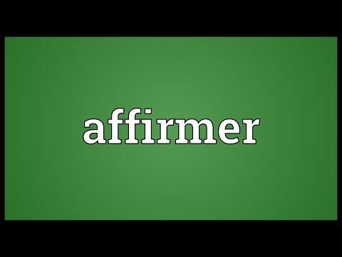 Header of Affirmer