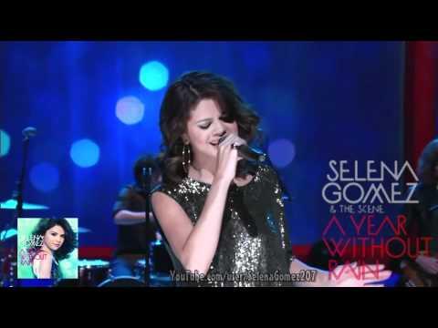 Selena Gomez -ღA Year Without Rainღ (Live At Regis&Kelly 1201 2010)
