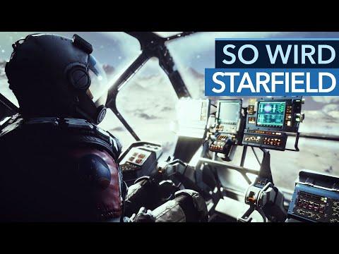 Bethesda hat schon viel mehr über Starfield verraten, als der Trailer zeigt!