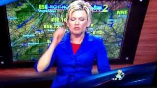 download lagu Weather Lady Late For Her Tv Appearance Wsb Tv gratis