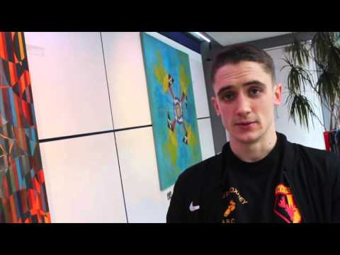 YOUNG TALENT REECE 'BOMBER' BELLOTTI MAKES TIME FOR iFL TV (POST WEIGH IN) / GROVES v DI LUISA