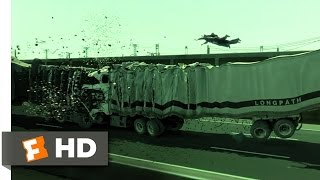 The Matrix Reloaded (5/6) Movie CLIP - Truck Stop (2003) HD