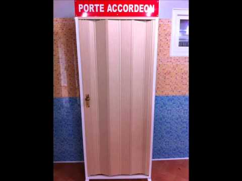 porte accordeon youtube. Black Bedroom Furniture Sets. Home Design Ideas