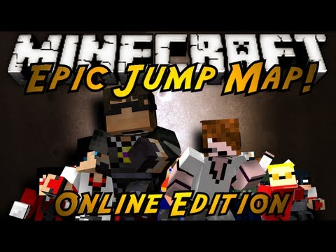 Minecraft: Epic Jump Map ONLINE!