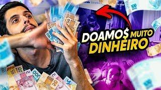 DOAMOS R$ 2.000,00+ PARA STREAMERS! ELES ACEITARAM OS DESAFIOS?