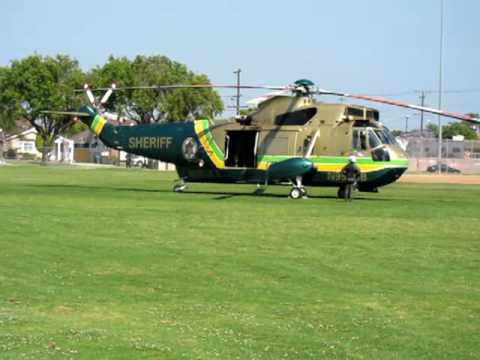 Los Angeles County Sheriff's Air Rescue 5 Helicopter