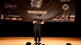 C3yoyodesign Present : Polish Yoyo Contest 2012 Open 2nd - Yuji Kelly