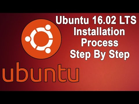 Ubuntu 16.02 LTS Installation Step By Step Process Updated OS With VMware
