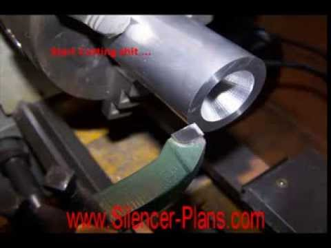 Silencer Designs: K-Baffles Building Tutorial (Suppressor)