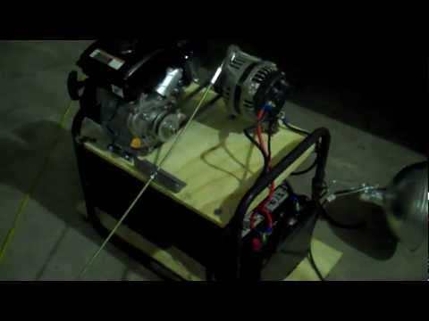 Homemade Inverter Generator