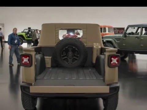 jeep renegade comanche pickup concept