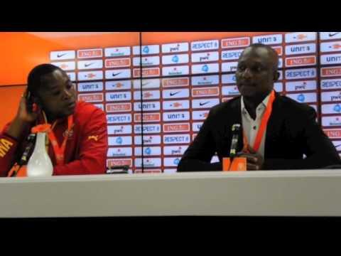 Kwesi Appiah - Netherlands V Ghana Post Match Press Conference