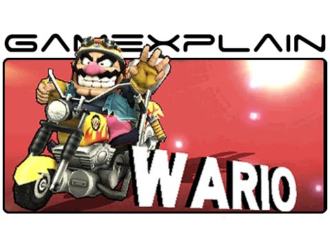 Smash Bros 3DS: Wario Tour - All Moves, Taunts, & Final Smash