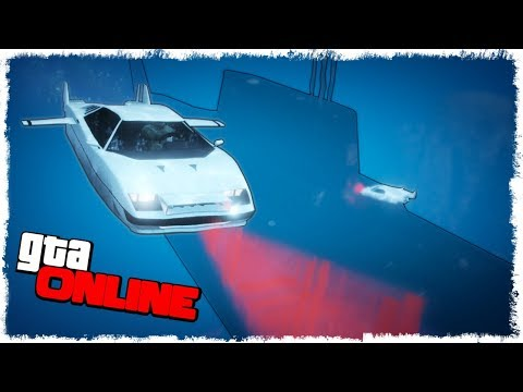 ОГРАБЛЕНИЕ ПОДЛОДКИ В ОКЕАНЕ - GTA ONLINE!!! #4 (УГАР, ЭПИК, БАГИ)