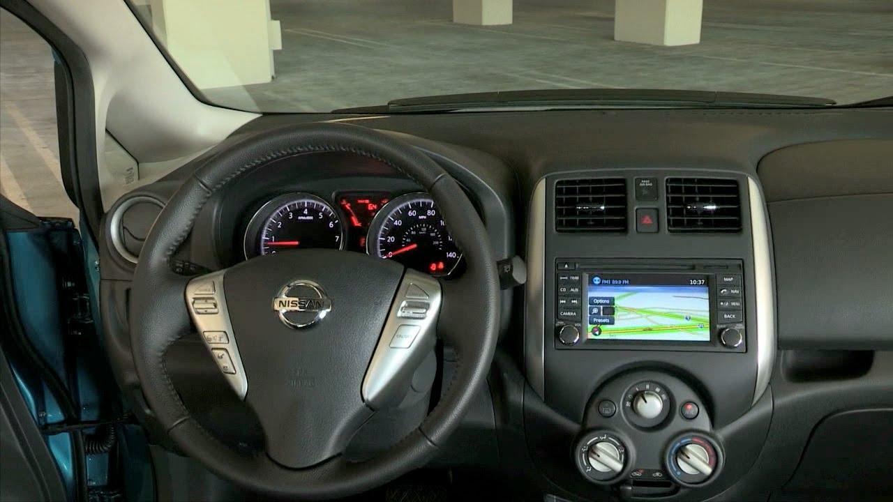 2014 Nissan Versa Note Interior Youtube