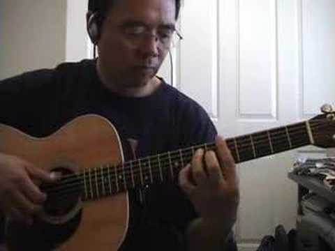 fingerstyle guitar - alices restaurant