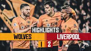 Raul Jimenez strikes against the reds | Wolves 1-2 Liverpool | Highlights