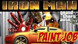 GTA 5 Ironman theme paint job