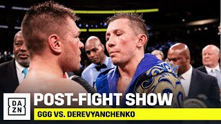 POST-FIGHT SHOW | GGG vs. Derevyanchenko