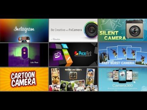 Las mejores aplicaciones para la cámara de tu android + Instagram