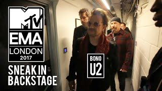 SNEAKING INTO MTV EMA AWARDS 2017 BACKSTAGE