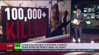 3 Years Of  War  (Syria) bloodbath continues with no peace deal in sight  3/15/14