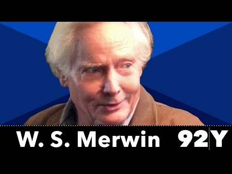 W. S. Merwin, accomplished poet, and his exclusive full interview with 92nd Street Y
