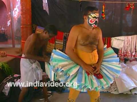 Kathakali Make Up Kerala video