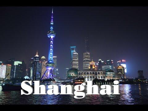 Szanghaj. Rejs Po Rzece Huangpu. Wycieczka Do Chin. Shanghai. China. Huangpu River.
