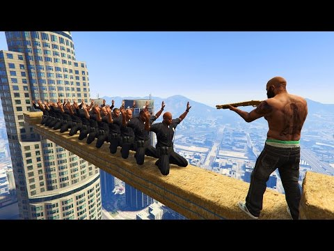 GTA 5 Brutal Compilation (GTA V This is Los santos Funny Moments Fail Thug life)