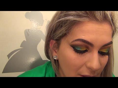 Maquiagem para a Copa 2014 no Brasil por Alice Salazar