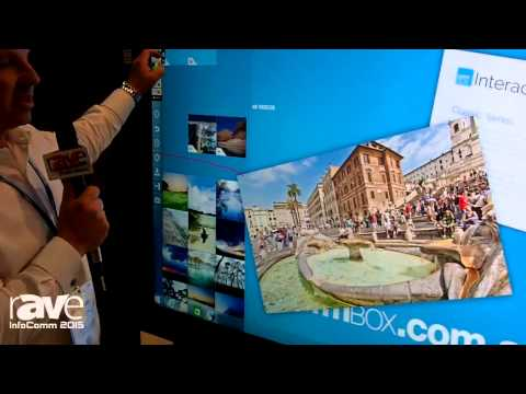 InfoComm 2015: CommBox Details 80″ 4K Touch Screen With Optical Touch