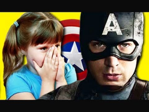Kids React To Captain America Trailer