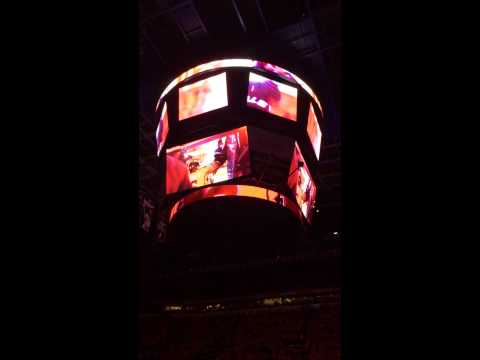 Calgary Flames Intro vs Vancouver Canucks- Stanley Cup Playoffs 2015