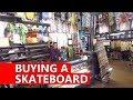 Buying a Skateboard at Zumiez  Roadtrip to Canada Vlog