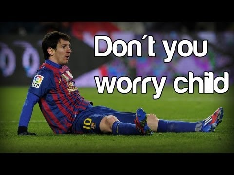 Lionel Messi - Don't You Worry Child | All Skills + Amazing Goals | 2013 | Hd video