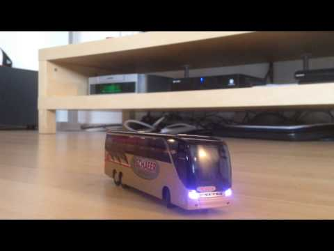 1:87 h0 RC ferngesteuert mikromodell Bus Setra s 417 hdh Schäfer reisen werbemodell scale model