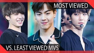 Download Lagu KPOP Groups Least Vs. Most Viewed Music Videos Gratis STAFABAND