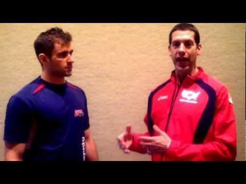Interview with Dr. Myers - Maximized Living Chiropractor - USA Judo - USA wrestling - London 2012