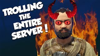 TROLLING THE ENTIRE SERVER AGAIN! - Rust