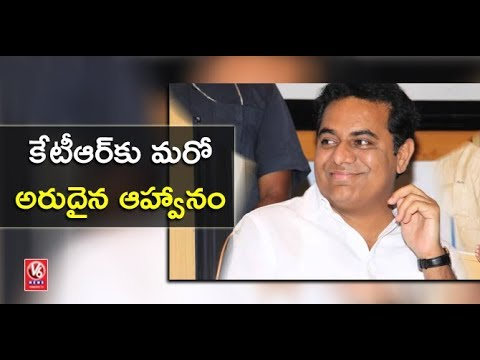 UAE Govt Invites Minister KTR To Visit Country For Strengthening Bilateral Relations | V6 News